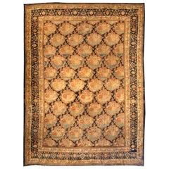 Large Antique Bidjar Rug 'size adjusted'