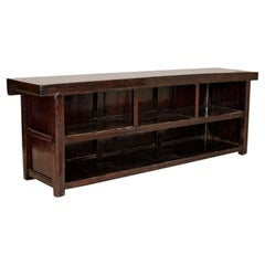 Large Antique Buffet Sideboard Console Free Standing Island Counter from China