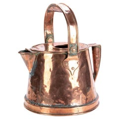 Large Antique Copper Watering Can
