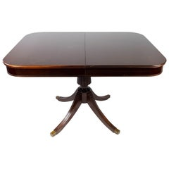Large Antique Dining Table of Mahogany, 1930s
