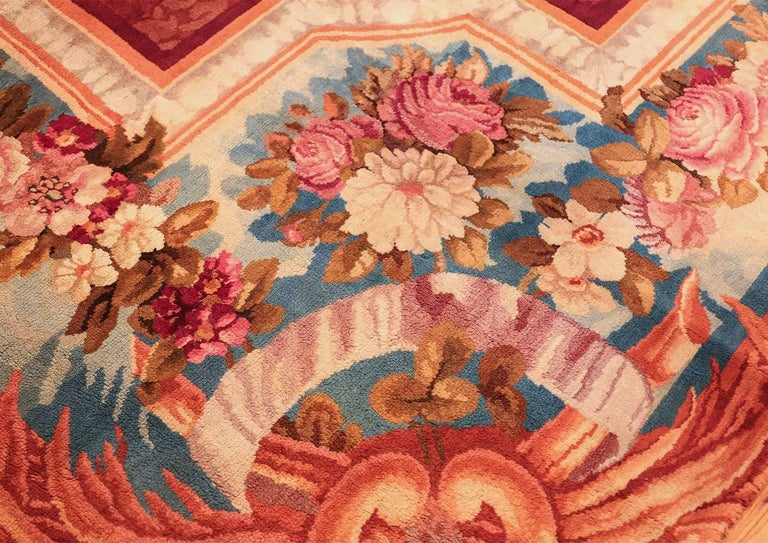 Large Antique English Axminster Rug For Sale At 1stdibs