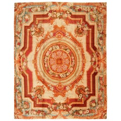 Large Antique English Axminster Rug. Size: 15 ft x 18 ft 10 in (4.57 m x 5.74 m)