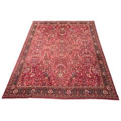 Large Antique European Carpet Probably Spanish Rug