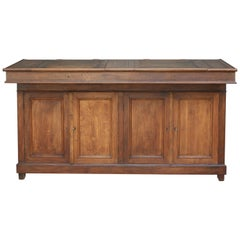 Large Antique Factory Office Lectern, High Desk, France, circa 1880