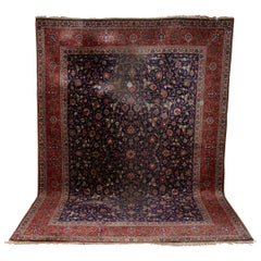 Large, Antique fine Orient Rug, Carpet, Hand Knotted