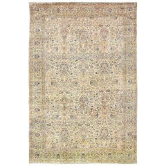 Large Antique Fine Persian Kerman Carpet. Size: 14 ft 3 in x 21 ft 9 in