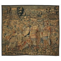 Large Antique Flemish Tapestry