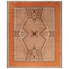 Large Antique French Art Deco Rug. Size: 12 ft 10 in x 16 ft (3.91 m x 4.88 m)