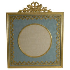 Large Antique French Gilded Bronze Photograph / Picture Frame, circa 1900