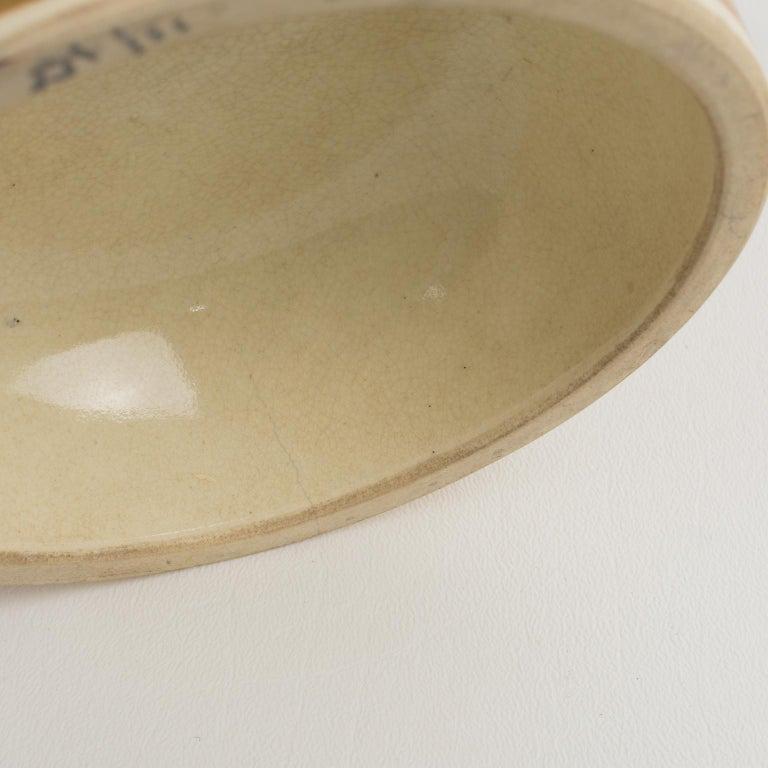 Large Antique Japanese Meiji Satsuma Covered Urn Vase with Foo Dog For Sale 14