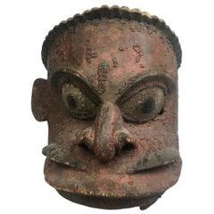 Large Antique Mask, Papua New Guinea Oceanic, 19th Century