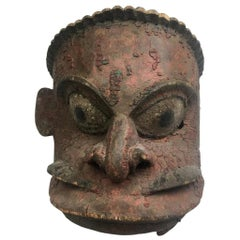 Large Antique Mask, Papua New Guinea Oceanic, 19th Century