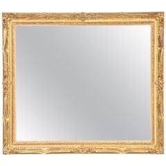 Large Antique Mirror, circa 1950