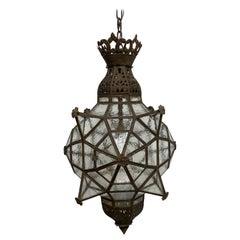 Large Antique Moroccan Style Lantern, circa 1900