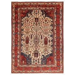 Large Antique Persian Bakhtiari Rug