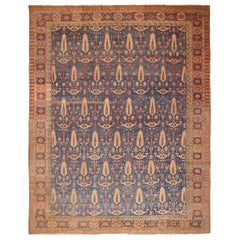 Large Antique Persian Bakshaish Rug. Size: 14 ft 9 in x 18 ft 2 in