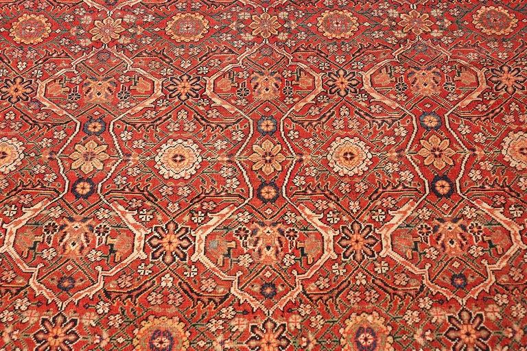 Large Antique Farahan Rug, Origin: Persia, Circa: Turn of the 20th Century (around 1900)