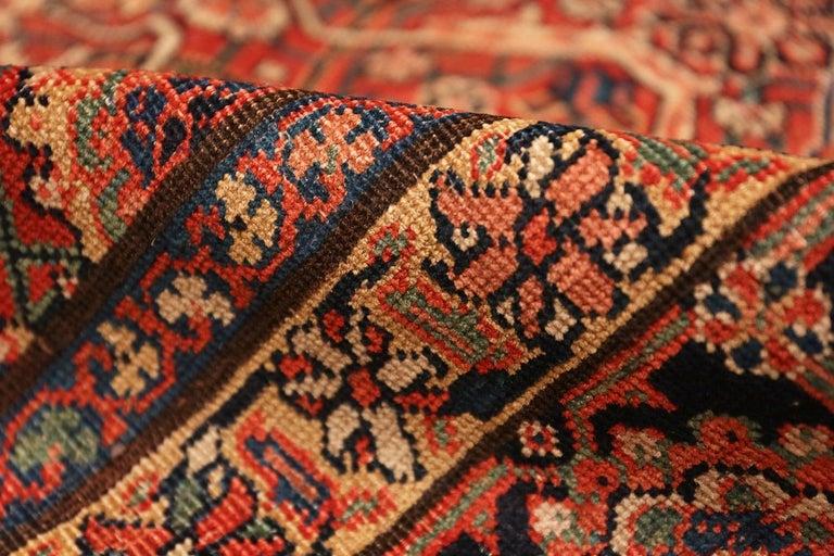 20th Century Large Antique Persian Farahan Carpet For Sale