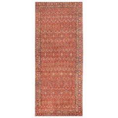 "Large Antique Persian Farahan Carpet. Size: 7' 6"" x 16' 9"" (2.29 m x 5.11 m)"