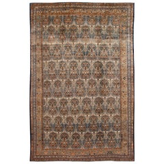 Large Antique Persian Handmade Wool Rug