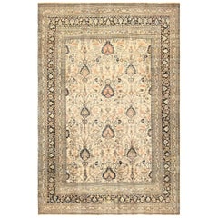 Large Antique Persian Khorassan Rug. Size: 11 ft 7 in x 17 ft (3.53 m x 5.18 m)