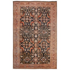 Large Antique Persian Sultanabad Rug
