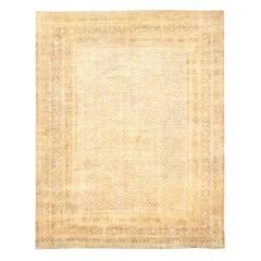 """Large Antique Persian Tabriz Carpet. Size: 13' 7"""" x 16' 7"""" (4.14 m x 5.05 m)"""