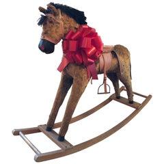 Large Antique Rocking Horse