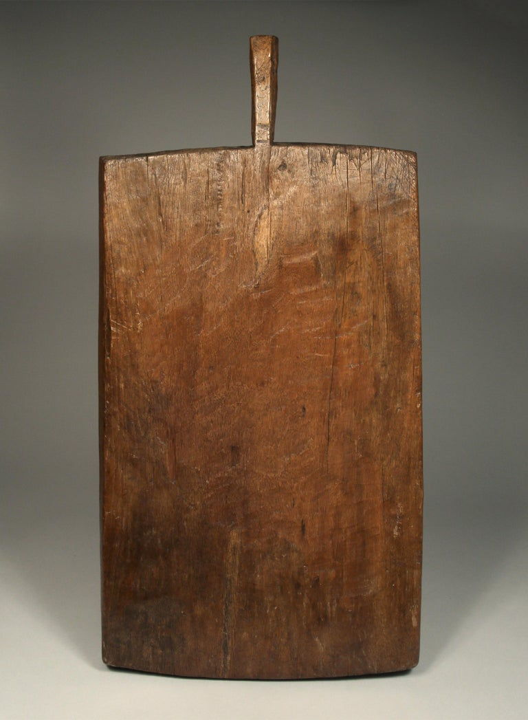 Hand-Crafted Large Antique Sticky Rice Tray from Northern Thailand, Early to Mid-20th Century For Sale