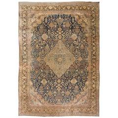 Large Antique Tabriz Rug