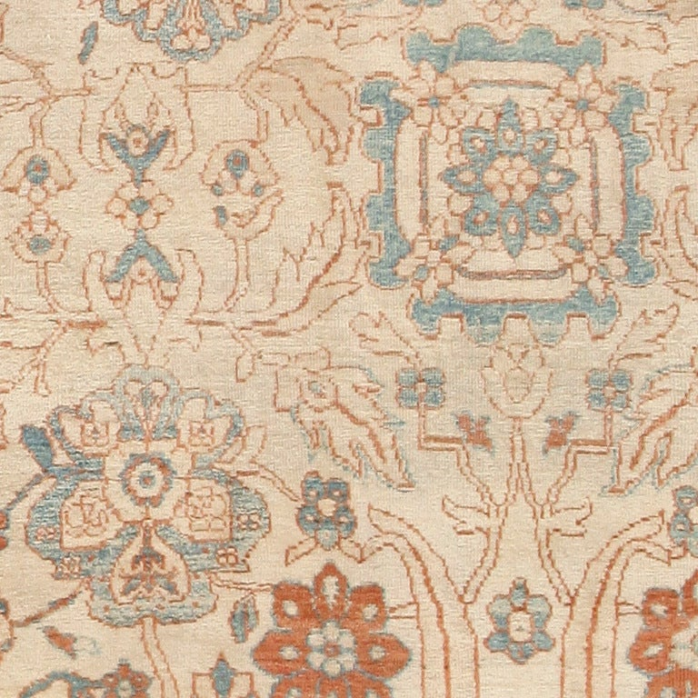 Persian Large Antique Ziegler Sultanabad Carpet. Size: 14 ft 5 in x 22 ft 3 in For Sale