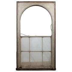 Large Arched Sash Window for Restoration, 20th Century