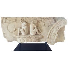 Large Architectural Fragment Frieze, 17th Century
