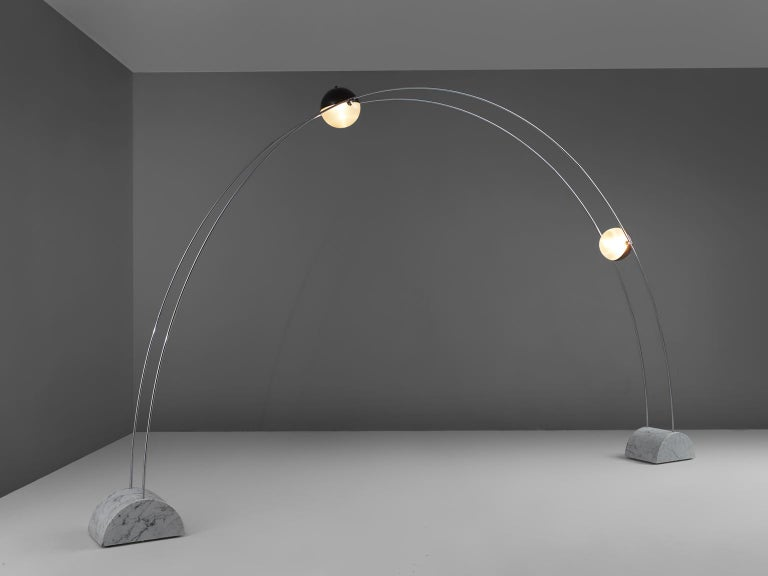 Mid-Century Modern Large Arditi 'Ponte' Floor Lamp for Sormani For Sale