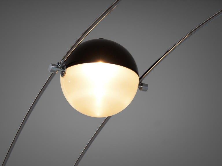 Italian Large Arditi 'Ponte' Floor Lamp for Sormani For Sale