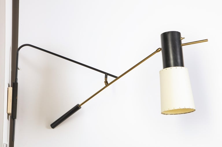 20th Century Large Arlus Sconce For Sale