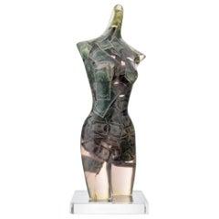 Large Arman Venus with Two Dollar Bills Sculpture, Unique