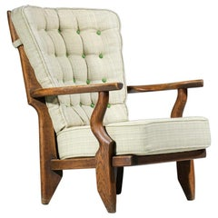 """Large Armchair """"grand repos"""" Madame by Guillerme et Chambron"""