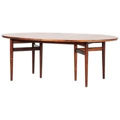 Large Arne Vodder Dining Table Model 212 in Rosewood, Denmark