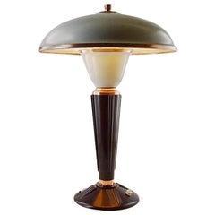 Large Art Deco Bakelite Table Lamp by Eileen Gray for Jumo, France