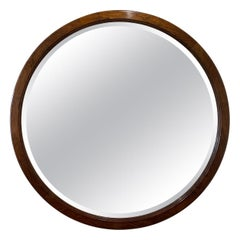 Large Art Deco Circular Mirror