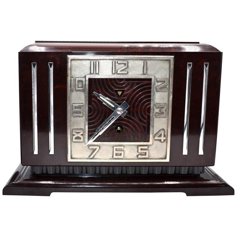 Art Deco Mantel Clocks 121 For Sale At 1stdibs