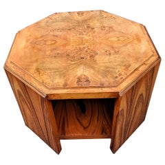 Large Art Deco Maple Occasional Table, circa 1930