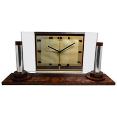 Large Art Deco Modernist Clock by ATO