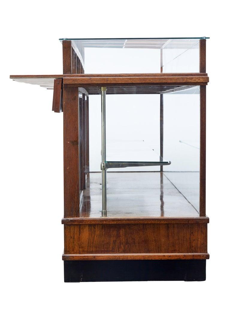 Large Art Deco Scandinavian Teak Haberdashery Shop Cabinet 1
