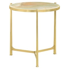 Large Art Deco Side Table, Onyx