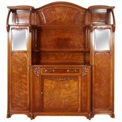 Large Art Nouveau Cabinet