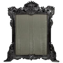 Large Art Nouveau Rococo Sterling Silver Picture Frame by Tiffany & Co.