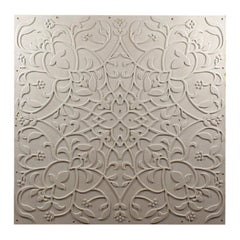 Large Art Nouveau Style Ceiling Tiles, 20th Century