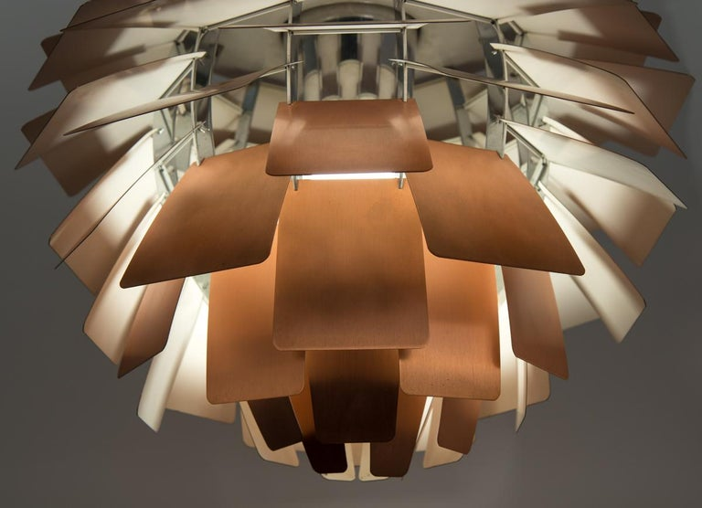 Mid-Century Modern Large Artichoke Lamp by Poul Henningsen For Sale